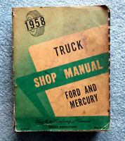 1958 Ford and Mercury Truck Shop Manual SE 717-58