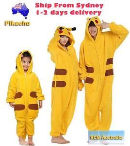 Pikachu Adult Onesie Animal Costume Kigurumi Brand New Marrickville Marrickville Area Preview