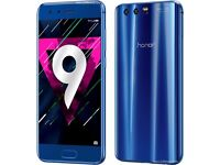 Mobile Phone Honor 9 Huawei 4GB+64GB Sim free Unlocked New Unopened Android Smartphone