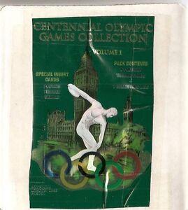 Centennial Olympics Card Set Plus Olympic Medal Pogs Set