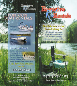 MPC Executive RV Rentals and Pontoon boat tours