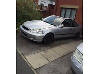 Honda Civic 1.6ls manual