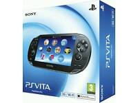 Boxed vita 3g, power grip, case and charge cradle