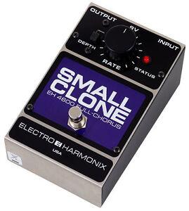 pedal ehx small clone chorus avec la boite  non négo
