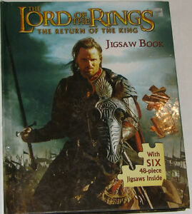 Lord of the Rings 6 Puzzles BOARD Book