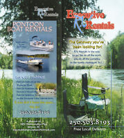 MPC RV Trailer Rentals and Pontoon lake tours