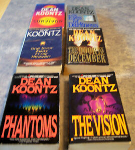 PAPERBACK  DEAN KOONTZ BOOKS Kingston Kingston Area image 4