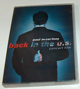 Paul McCartney Back in US Concert DVD and T Shirt London Ontario image 2