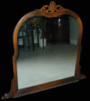 $225 · 1896 ANTIQUE MIRROR FOR SALE BY ESTATE EXECUTOR