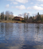 ABSOLUTE WATERFRONT HOME ON BLACK STURGEON LAKE