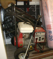 Pressure Washer, Honda Gas 9 HP Motor, Industrial or Home
