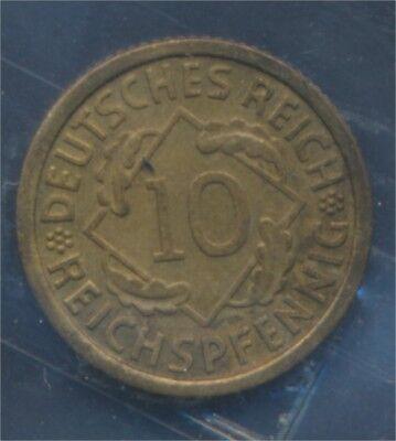 Deutsches Reich Jägernr: 317 1930 F vorzüglich 1930 10 Reichspfennig (7879585