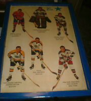 67-68 2nd team All Stars -Bucyk,Neilson,Giacomin,Trembly,Gilbert