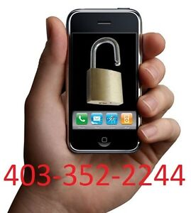 Unlock & Replace screen on all the Phones CALL @ 403-352-2244