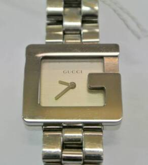 a9d29fa0ced USED Gucci Watch Silver 3600 L Swiss Made Steel - Authentic SALE