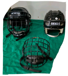 Kids Hockey Helmets (small-extra small) +  Mask (broken)