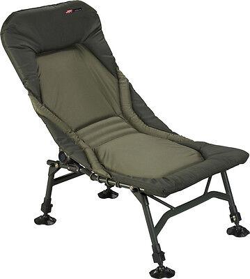 JRC NEW X-Lite Stealth Recliner Carp Fishing Chair - 1294359