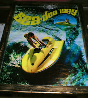 ad for a 1969 Sea-Doo - mounted, great for your cottage decor