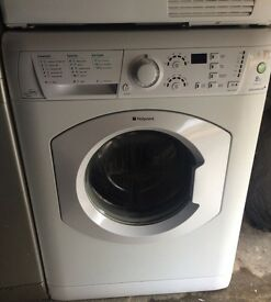 Hotpoint washing machine 8kg warranty and delivery included