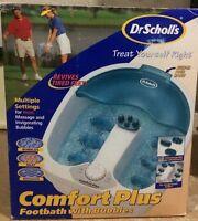 Dr. Scholl's Footbath spa