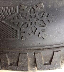 Winter tyres on steel rims (4) Peterborough Peterborough Area image 4