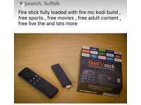 Fully kodi loaded amazon fire stick (best builders in town)