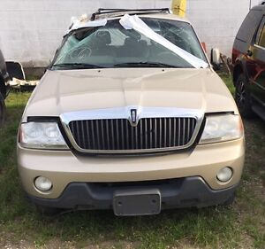 2004 Lincoln Aviator for parts