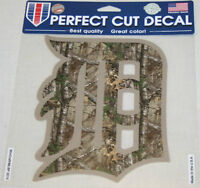 MLB Detroit Tigers 8-by-8 Inch Die Cut Camo Decal at JJ Sports