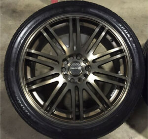 "18"" Tenzo R Tenspec Rim/Wheels & Tires"