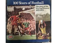 100 Years of Football Vintage Collectors Item