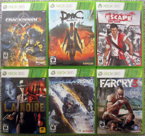 Xbox 360 Games for $10 each