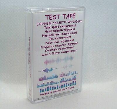 TTJ-003 / TEST TAPE - JAPANESE CASSETTE RECORDERS new