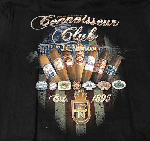 JC Newman Cigars - Connoisseur Club t-shirt