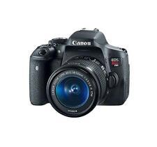 Canon Rebel T6i 24.2MP DSLR Camera with EF-S 18-55mm lens - Black