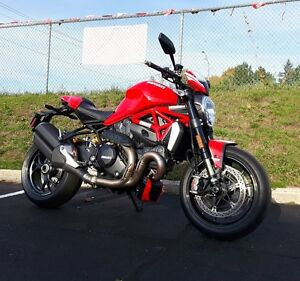2016 Ducati Monster 1200 R Red