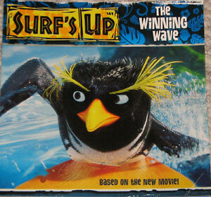 Surf's Up Book & Penguin Toys