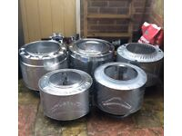 Get ready for bonfire night 🔥 💥 Garden Fire Pits for Sale Upcycled from Washing Machine Drums