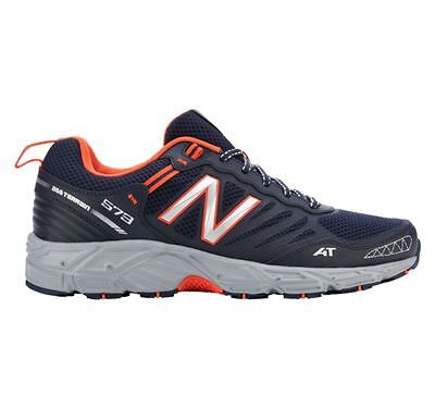 New  Mens New Balance 573 V3 Trail Running Sneakers Shoes   Wide 4E Navy