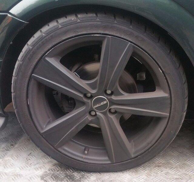Vauxhall Astra x4 Alloy Wheels & Tyres 205/40/17 (2001)