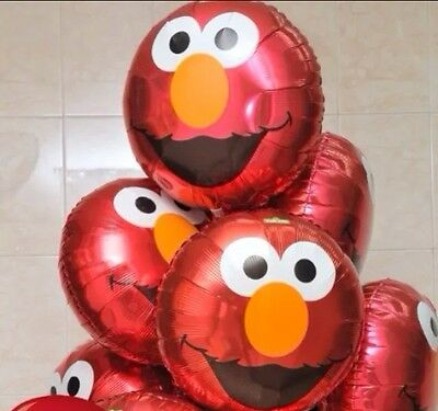 ACE BIRTHDAY BALLOON BABY SHOWER Foil Kids Party Supplies. (Elmo Ballons)