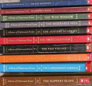5 Sets of Series of Unfortunate Events Books - SOFT Covers London Ontario image 3