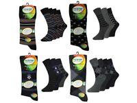 360 Pairs Mens Flexi Top Everyday Socks Loose Top Non Elastic Socks Lot Wholesale Stock Clearance
