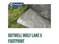 Outwell Wolflake 5 Footprint