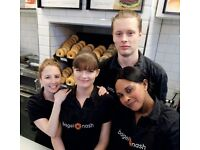 Full Time Team Member - Huddersfield - Bagel Nash - Competitive Rates of Pay