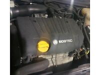 Vauxhall Astra 1.8 Automatic Gearbox Breaking For Parts (2006)