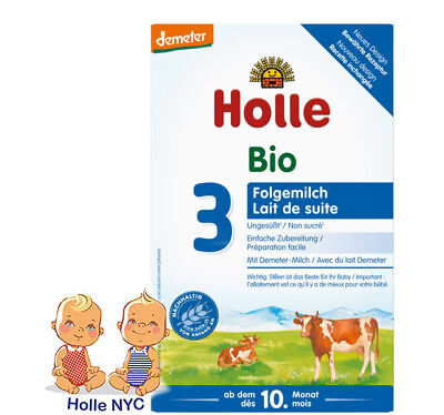 Holle Organic Formula stage 3, 10 month plus 08/2020, 600g, FREE SHIPPING