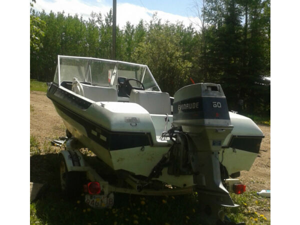 Used 1986 Evinrude Glascon 14.5 ft runabout