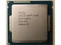 i7 4790 CPU