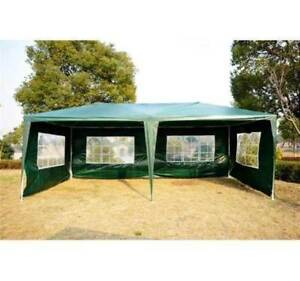 Event Tent for Catering 10' x 20' /4 Walls - Green