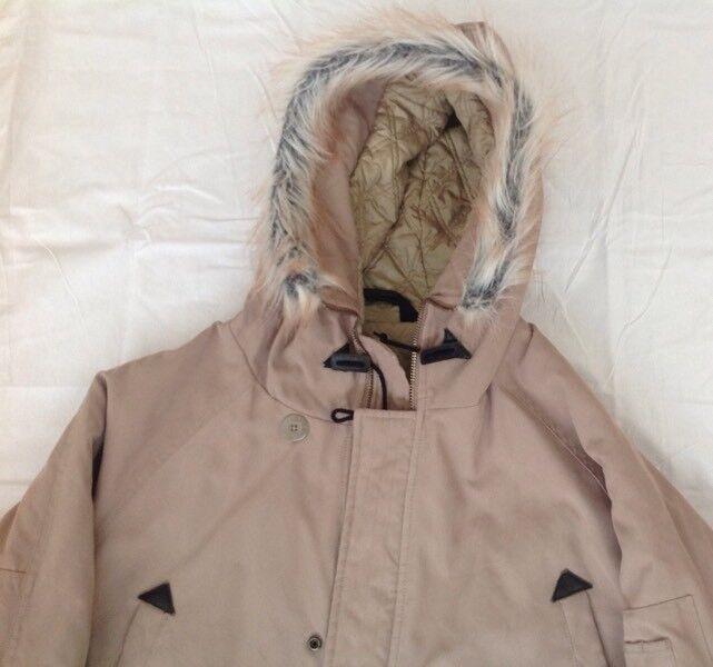 Menns Full Circle Parka Jacket - Size L